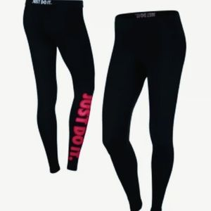 New Nike Leg-A-See Just Do It Tights/Leggings